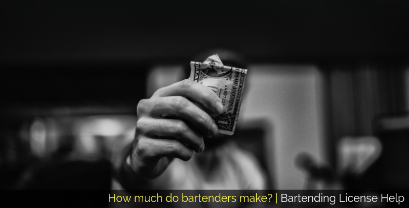 how much do bartenders make