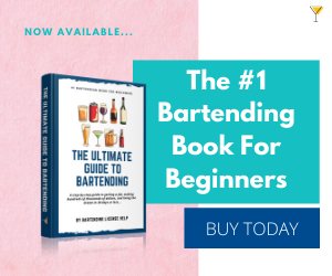 #1 Bartending Book for Beginners